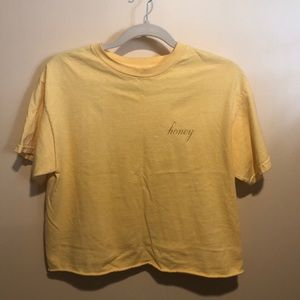 Honey brandy Melville tee